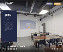 Visite virtuelle : École Isart Digital