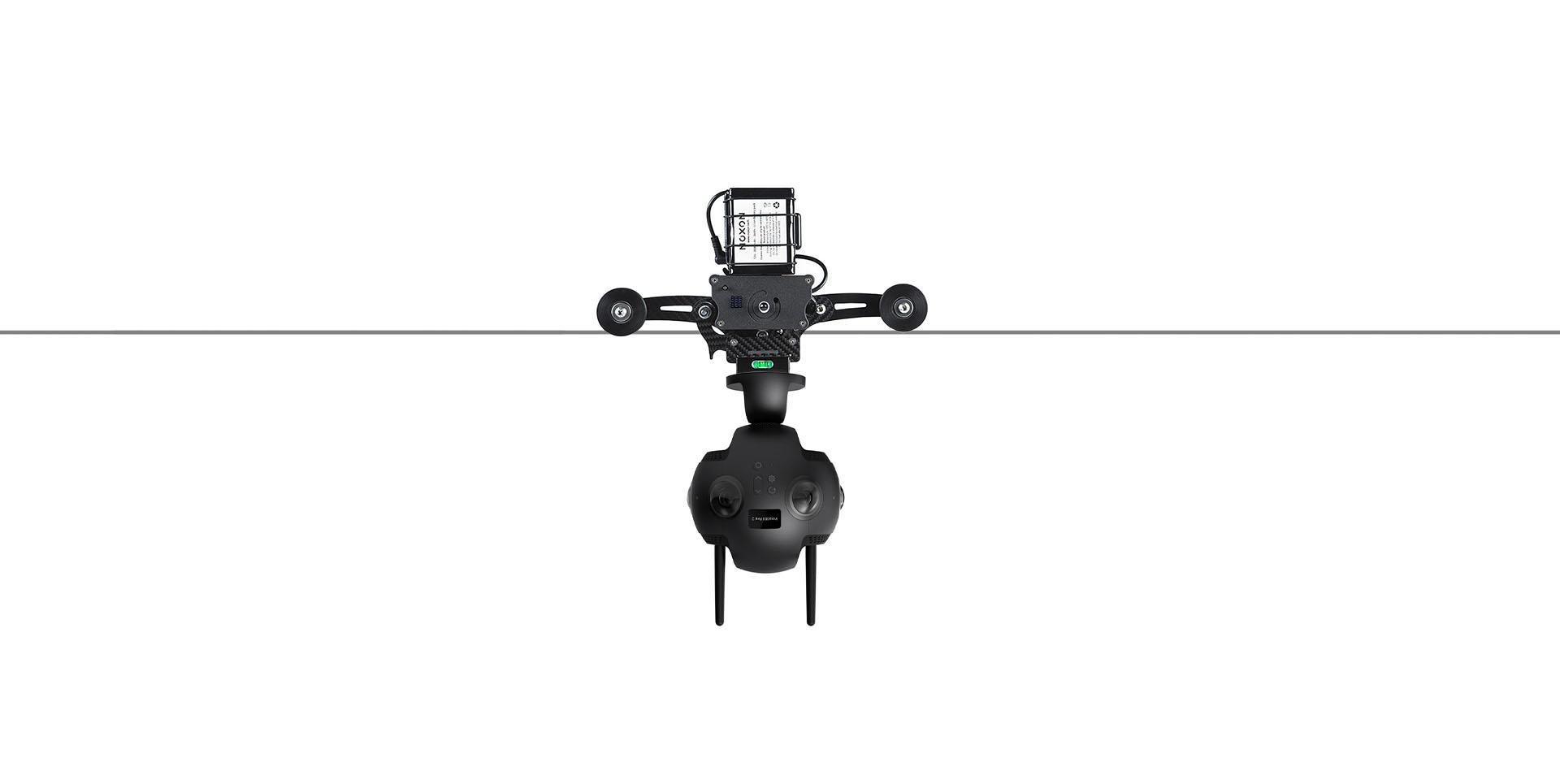 Cable-cam : pour des travellings à 360°
