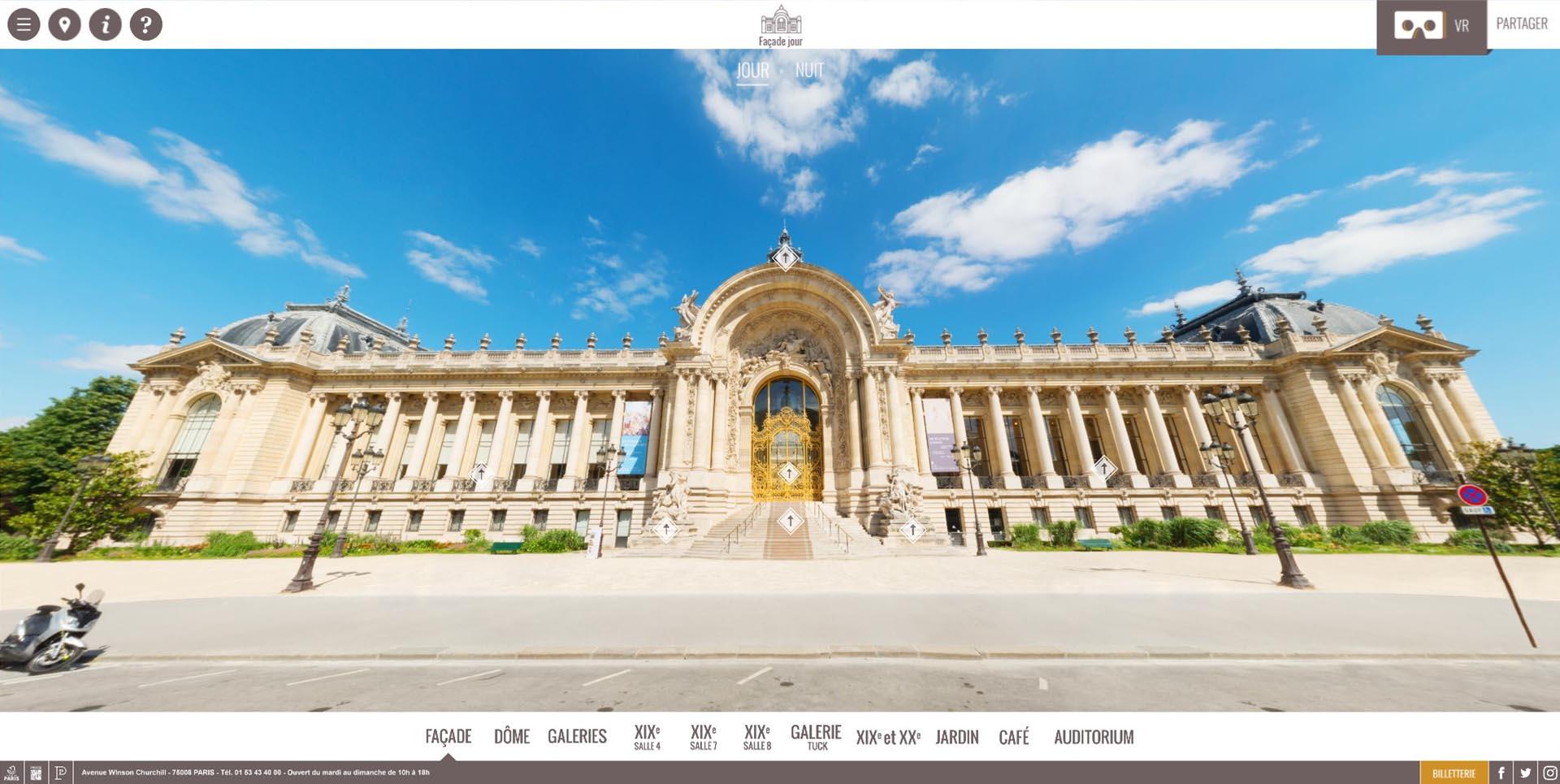Visite virtuelle : Musée du Petit-Palais