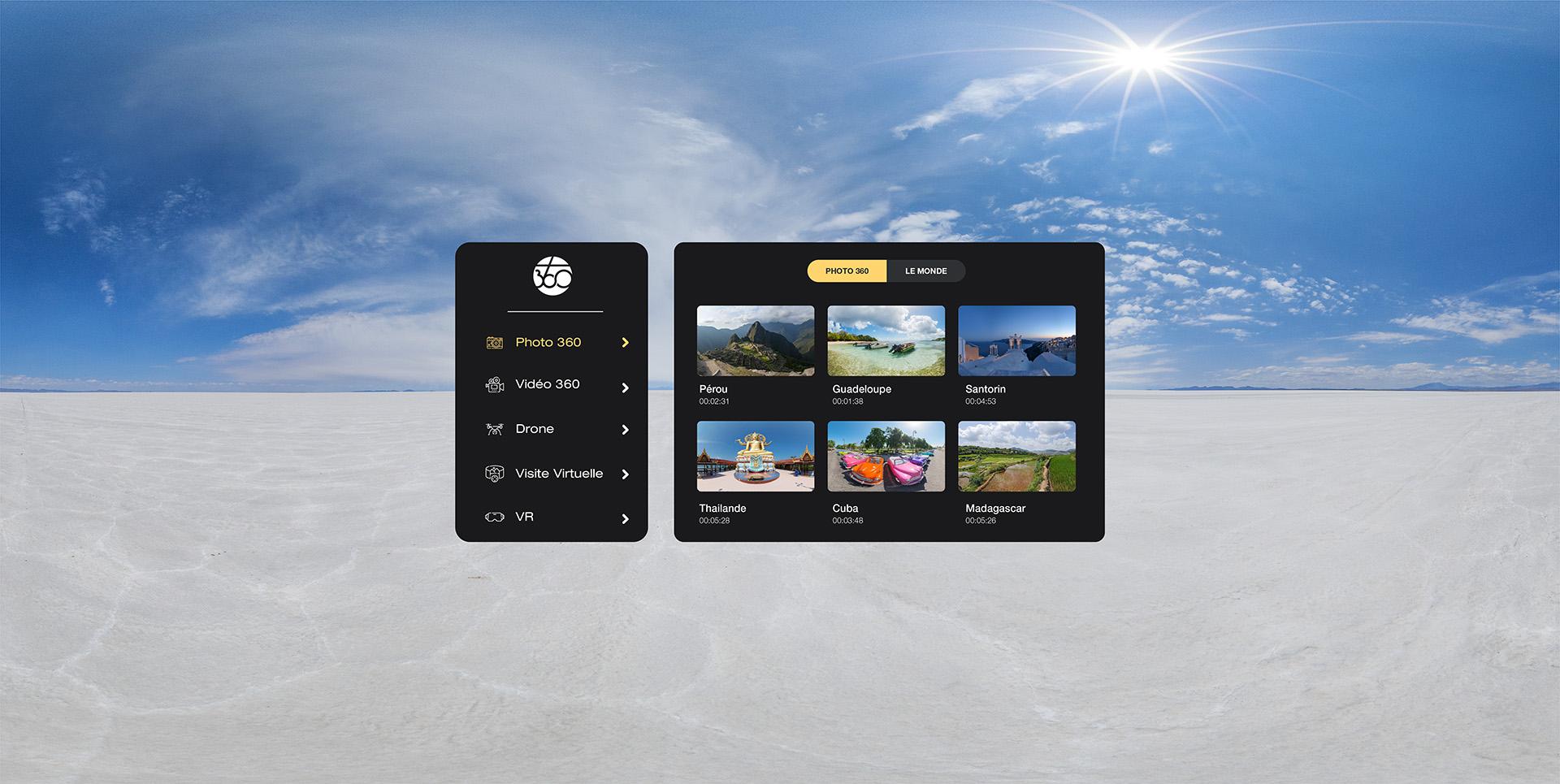 Kiosk 360 : une app pour casques VR