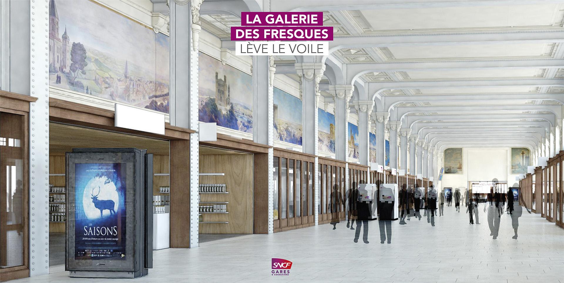 Webapp digitale : Les Secrets de la Galerie des Fresques