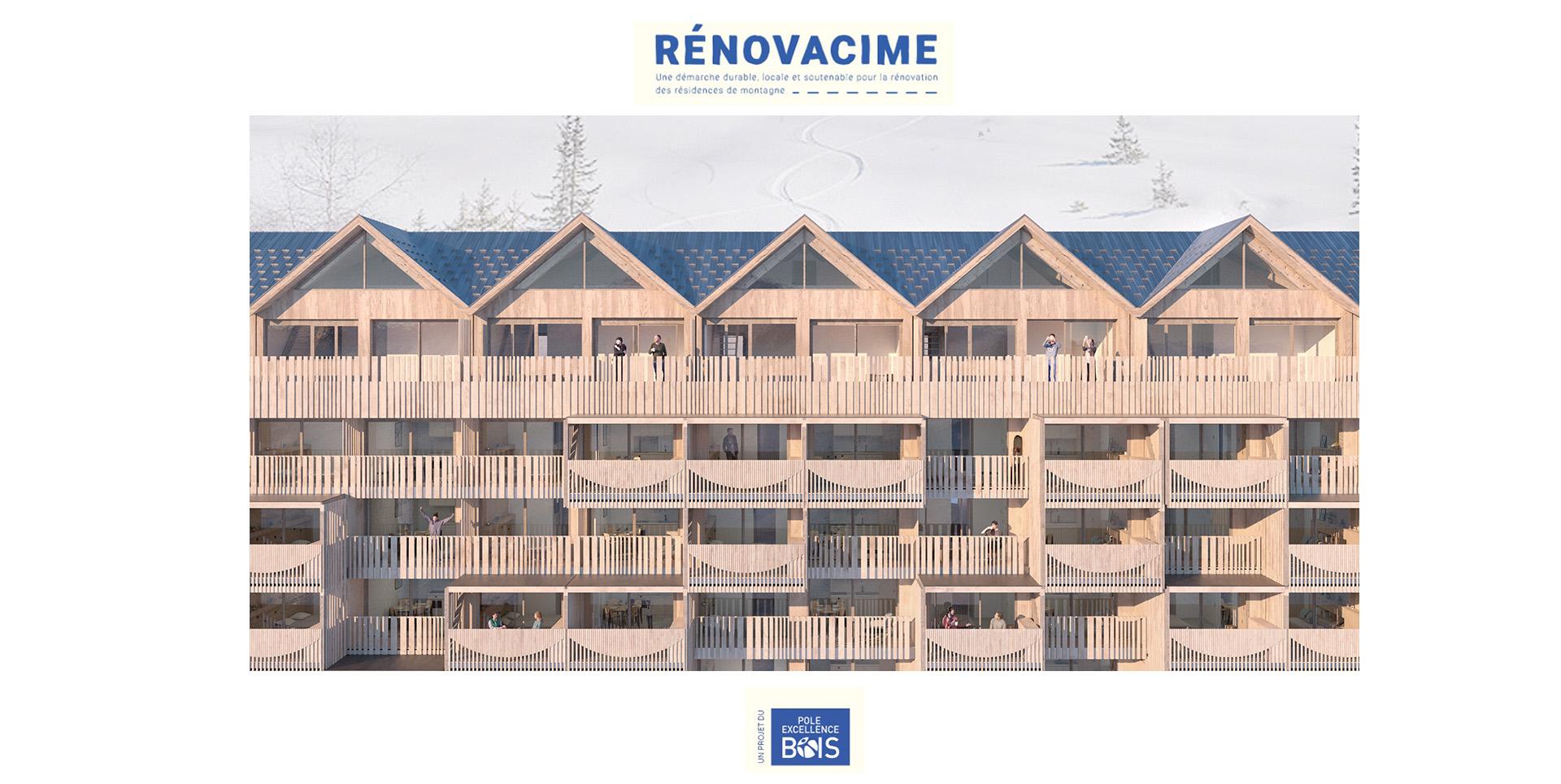 Visite virtuelle : Renovacime, rénovation de résidences en montagne.