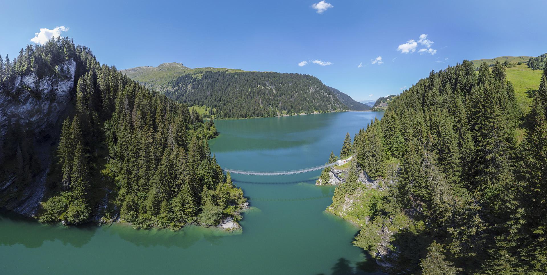 Drone 360 : Lac de St-Guerin - Lac des Fées